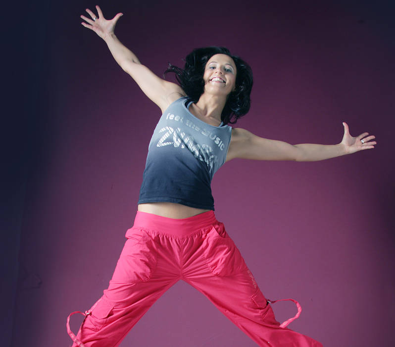 Mareike Johns, Zumba Fitness Instructorin